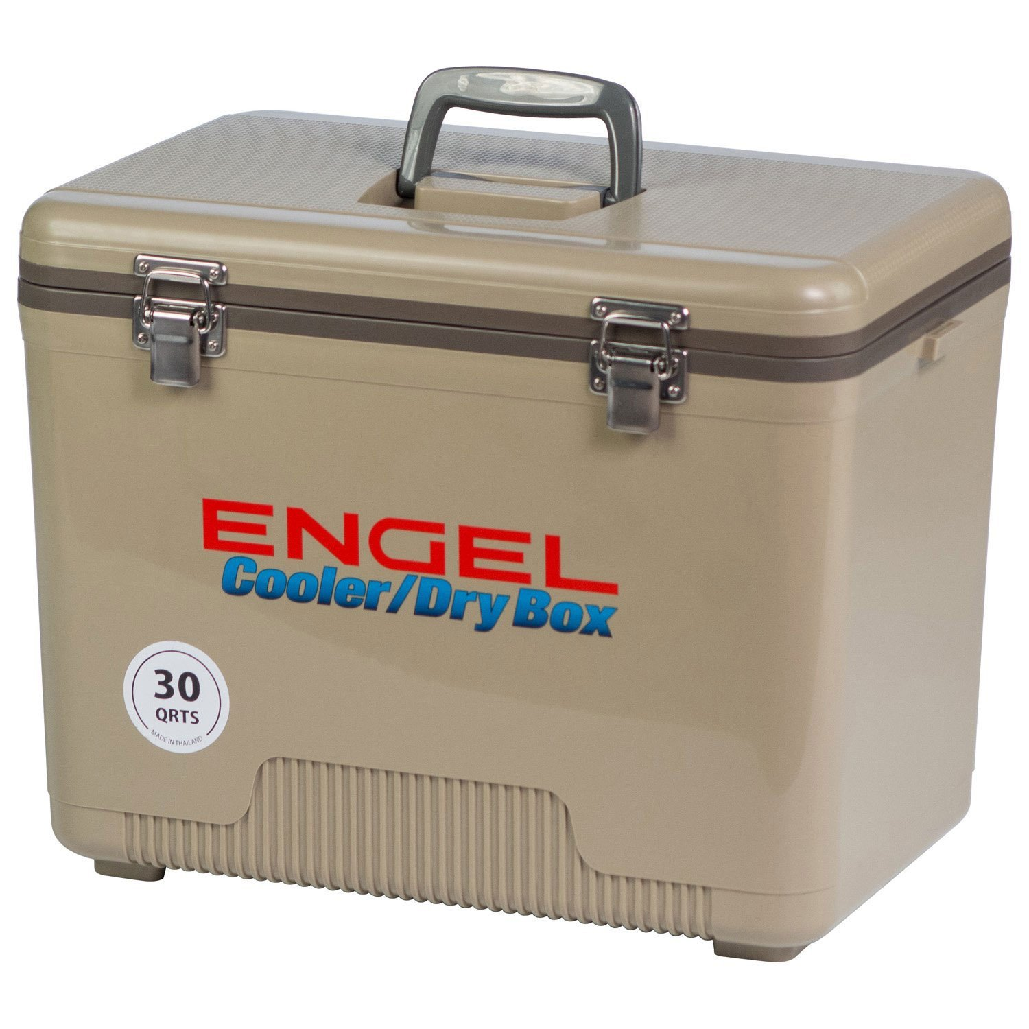 Engel Coolers 30 Quart 48 Can Lightweight Leak Proof Insulated Cooler Drybox