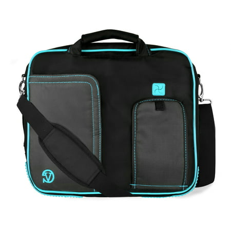 VANGODDY Pindar Travel School Shoulder Case Bag for 10, 11, 11.6 inch Laptops / Netbooks / Tablets [Apple, Acer, Asus, HP Samsung, Toshiba, etc] ()