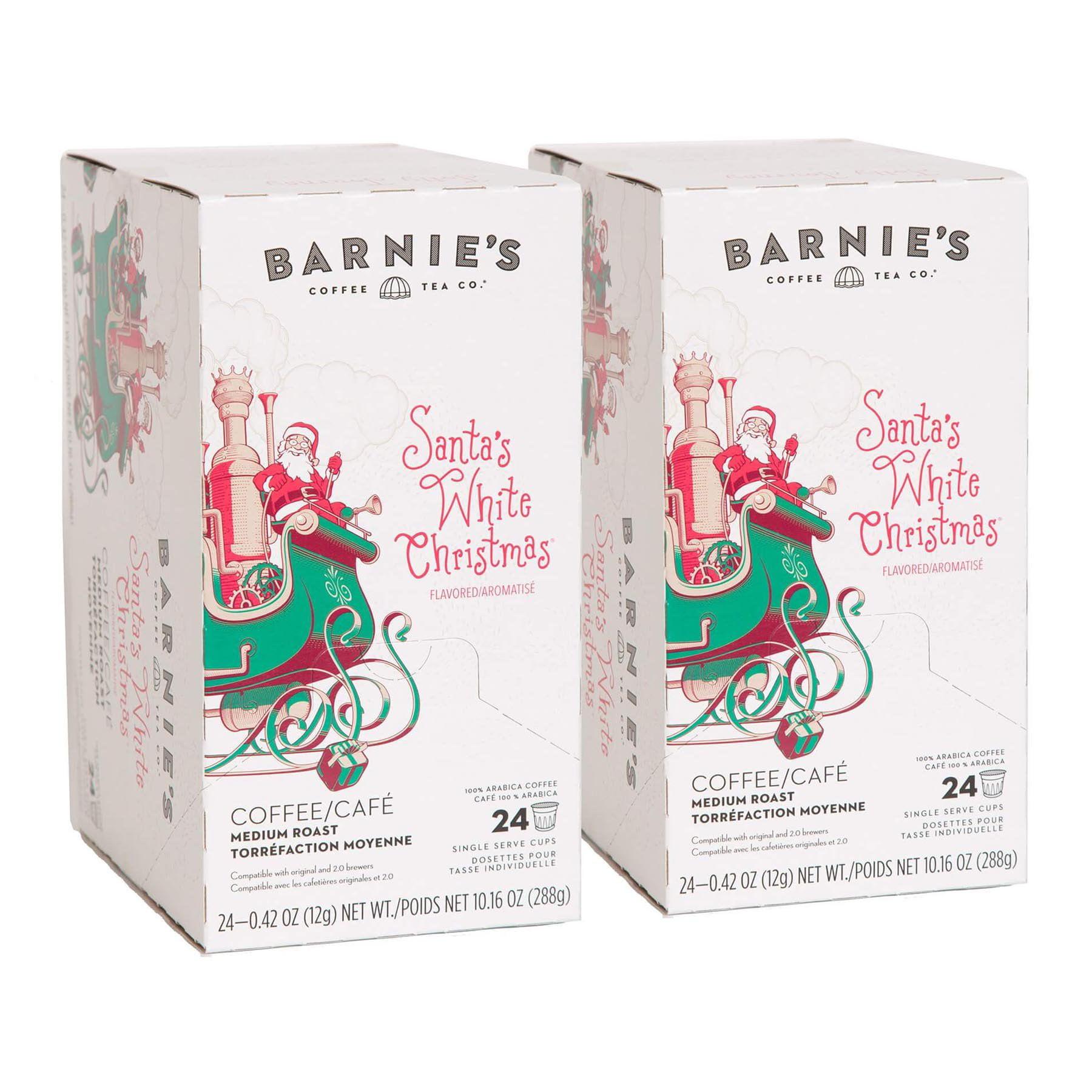Barnie\'s Coffee & Tea, Santa\'s White Christmas, Single Serve K-Cup ...