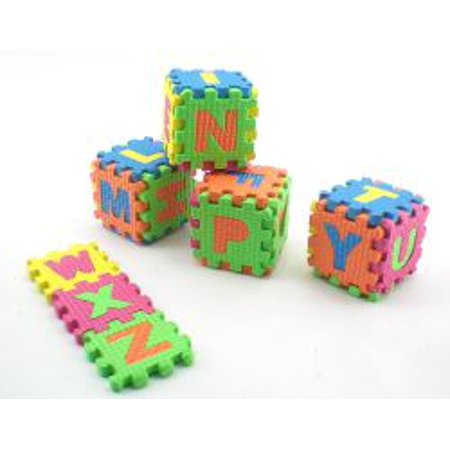 Foam Abc Blocks 27 Pc Set