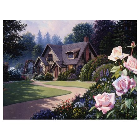Rose Cottage Travel Art Print Poster by Rose Gehrman (9