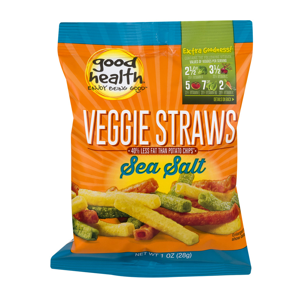 Good Health Veggie Straws Sea Salt, 1.0 OZ