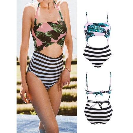 ff9aab6c649 2018 Various styles , Plus Size Swimwear Women High Waisted / One-Piece  Floral Bikini Set Push Up Padded Bra Swimsuit Bathing Suit, Sexy Bikini , Beachwear