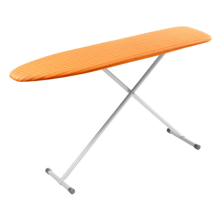 Lcg Iron (Honey Can Do Basic Ironing Board with 2-Leg Stand, Orange)