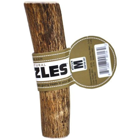 Spizzles Elk Antler Dog Chew, Center Cut, Medium