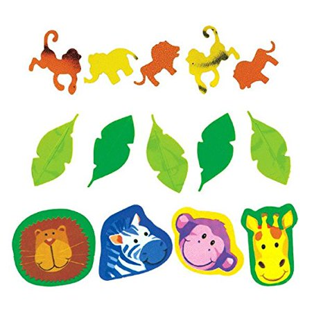 Jungle Animals Confetti Value Pack (3 types)