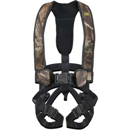 Hunter Safety Systems Alpha Camouflage Tree Hunting Safety Trim Fit Harness, S/M Hunter Safety Harness
