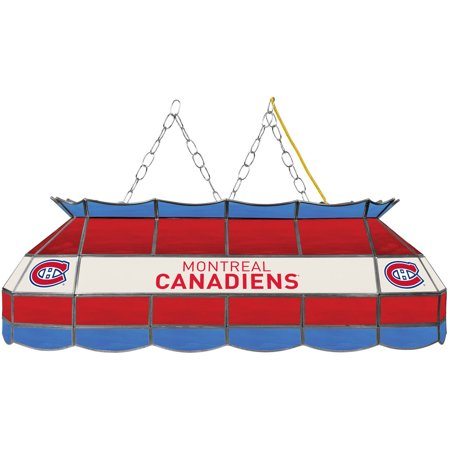 "NHL Handmade Tiffany Style Lamp, 40"", Montreal Canadiens by"