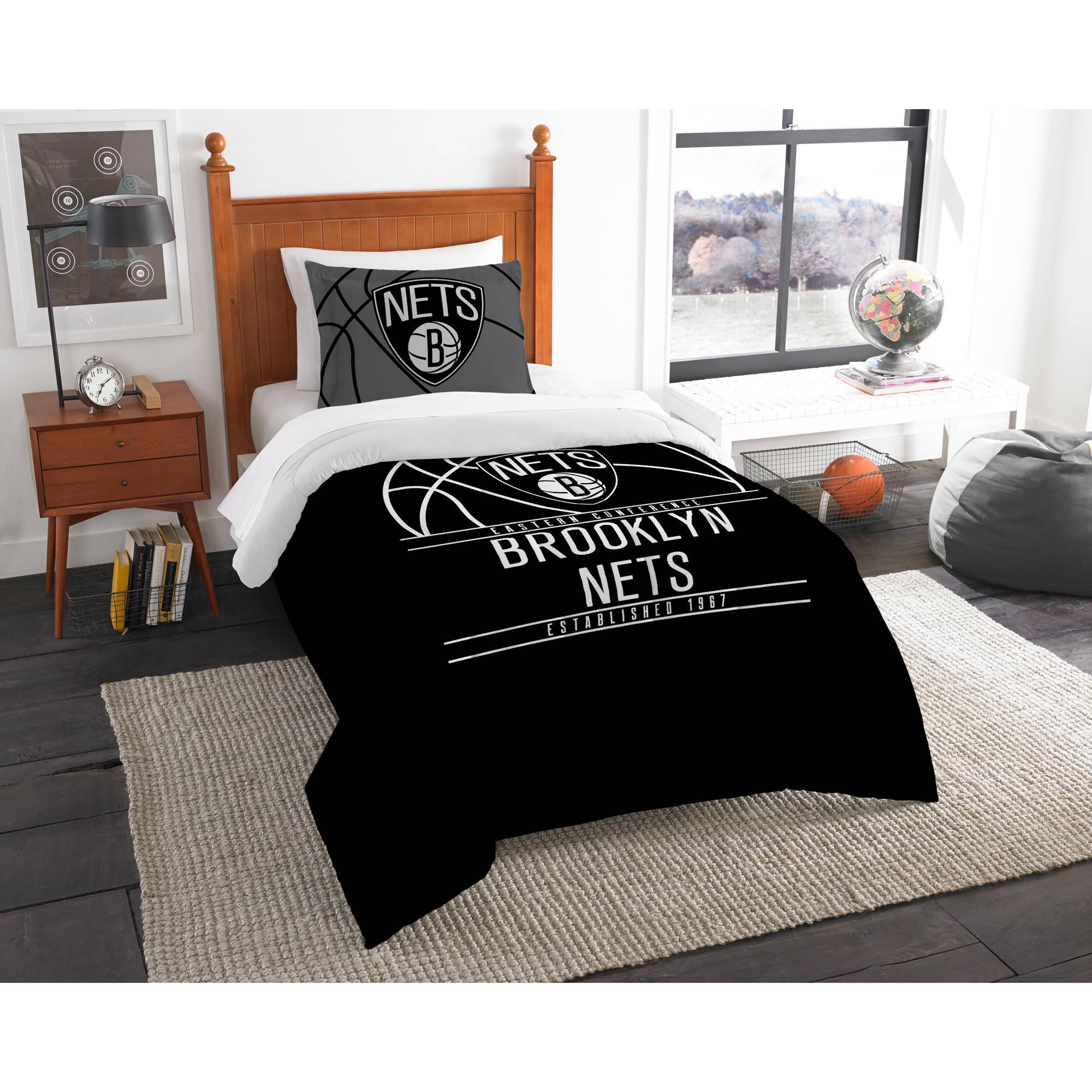 "NBA Brooklyn Nets ""Reverse Slam"" Bedding Comforter Set"