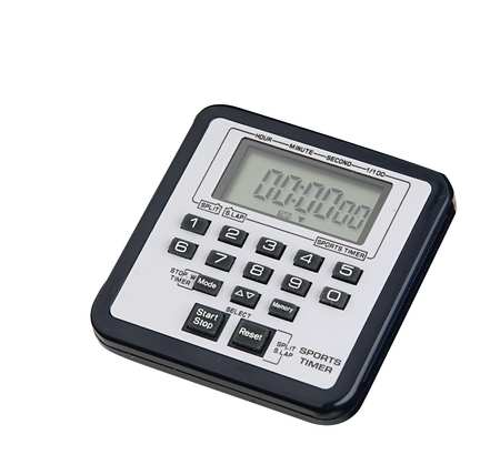 TRACEABLE 8322 Timer/Stopwatch, 99 hrs., 59 mins,LCD