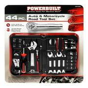 Powerbuilt 44-Piece Auto & Motorcycle Road Tool Set