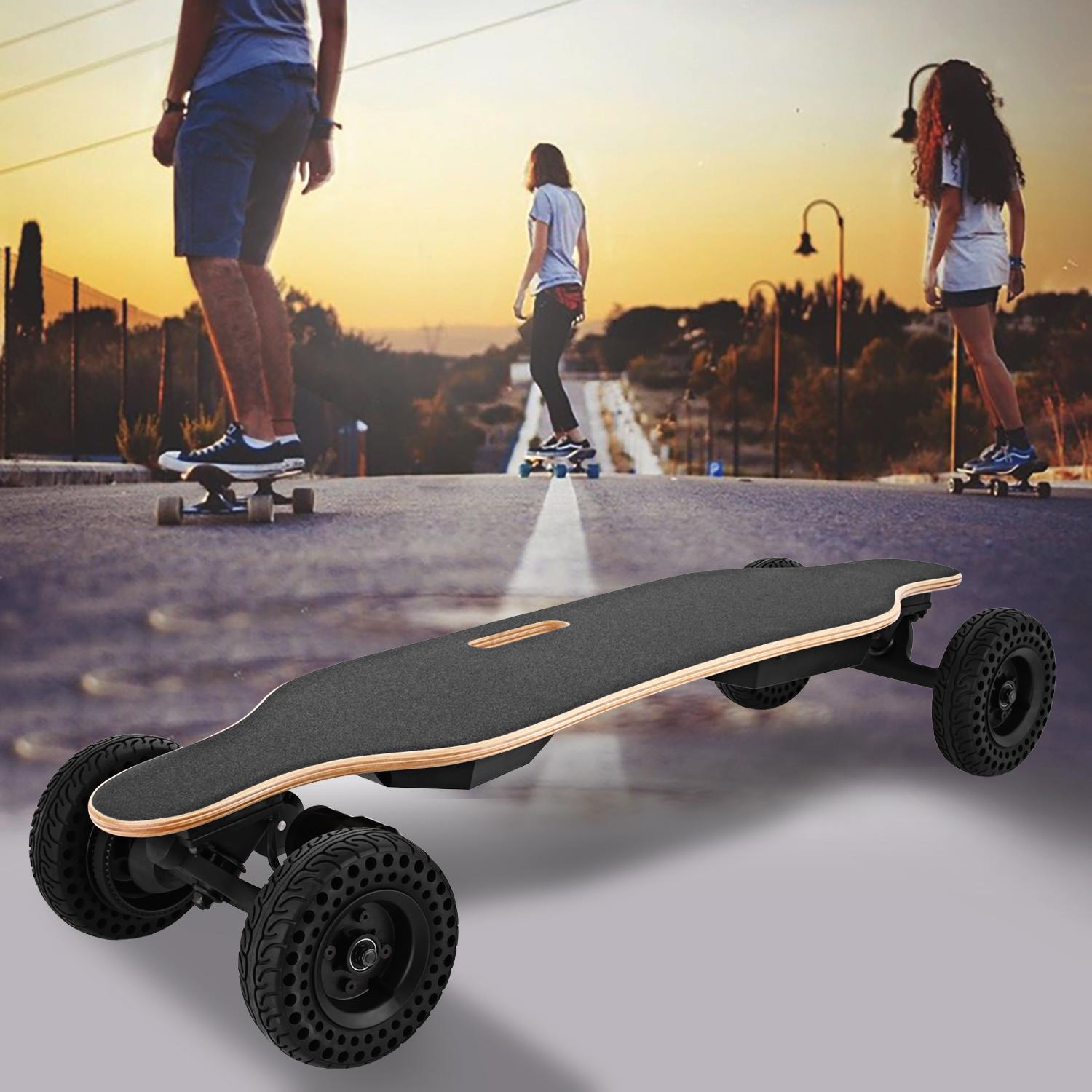 Kimimart Adult 37 Inch Electric Skateboard E400, 1800W Dual Motors 22 MPH 13 Mile Range Motorized Longboard... by