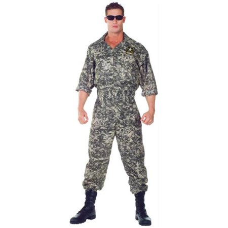 Costumes For All Occasions UR29390XXL Us Army Jumpsuit - Costumes For All