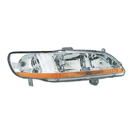 2001-2002 Honda Accord  Aftermarket Passenger Side Front Head Lamp Assembly 33101S84A02-V