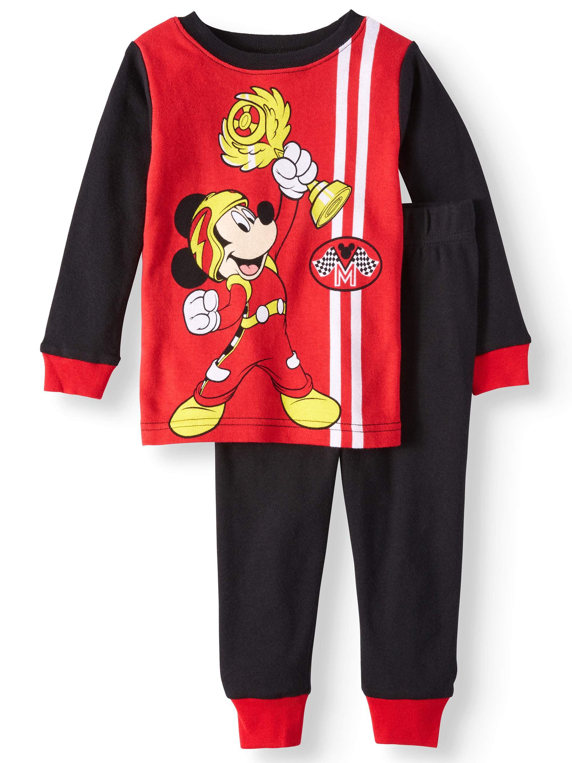 ff5f87b5 Mickey Mouse Pajamas, 2pc Set (Toddler Boys) – Walmart Inventory ...