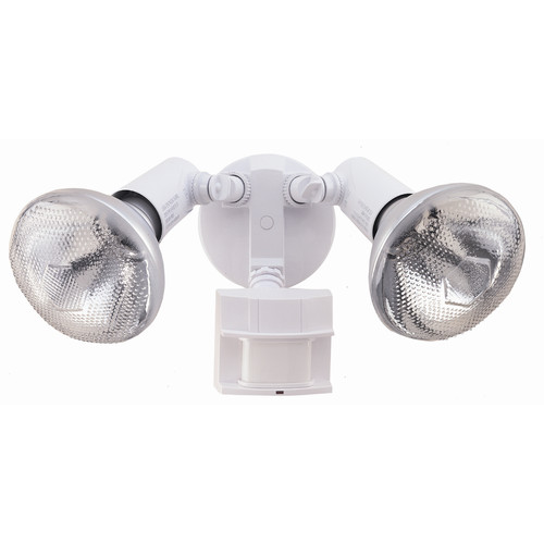 150-Degree Motion Activated Twin Flood Security Light in White