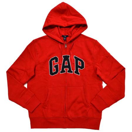 Gap Men/'s Logo Pullover Sweatshirt Red