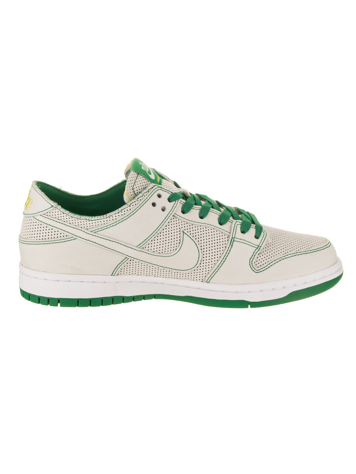 quality design 2b586 26f9a Nike - Mens Nike SB Zoom Dunk Low Pro Decon QS Ishod Wair White Aloe Verde  To - Walmart.com