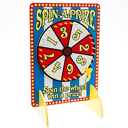 Century Novelty, Spin A Prize Wheel, 14 3/4