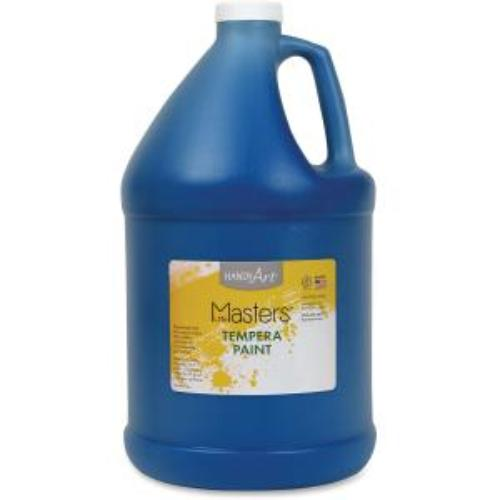 Rock Paint Distribution Corp 204-730 Handy Art Little Masters Tempera Paint Gallon - 1 Gal - 1 Each - Blue