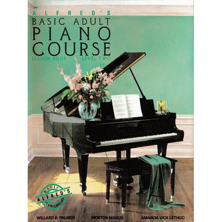 Alfred's Basic Adult Piano Course Lesson Book, Bk 2 ()
