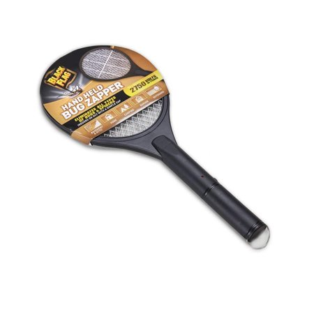 Handheld Bug Zapper, Black, 2750 volts of power that kills mosquitoes, biting flies, spiders, yellowjackets, and wasps By Black