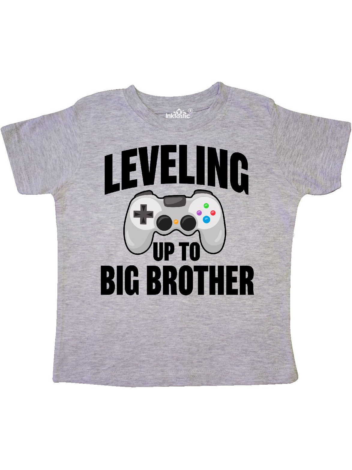 Leveling up To Big Brother Toddler T-Shirt