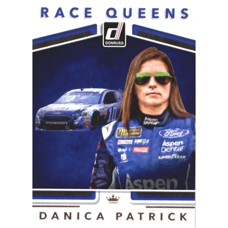 Danica Patrick Race (2018 Donruss #25 Danica Patrick Racing Race King Card )