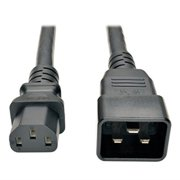 Tripp Lite Heavy-Duty Power Cord for PDU 15A, 12AWG (IEC-320- C13 to IEC-320-C20) 7-ft.(P032-007)