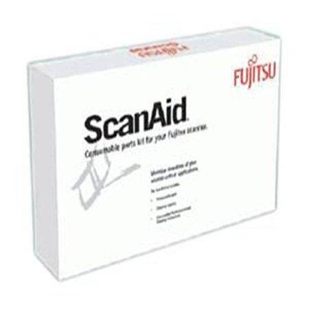 Fujitsu CG01000-524801 Maintenance Kit for Select Workgroup Scanners White/Black