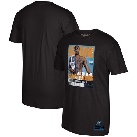 Gilbert Arenas Washington Wizards Mitchell & Ness Slam Cover Graphic T-Shirt - Black