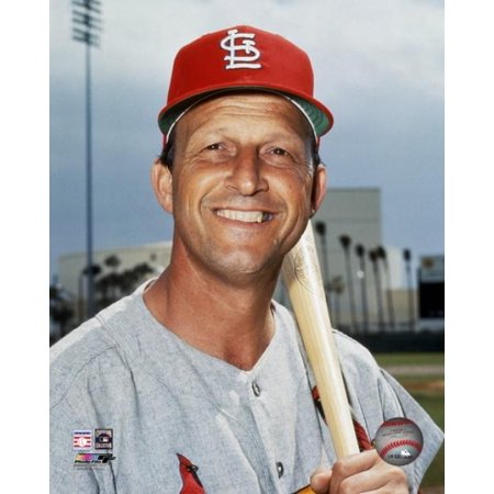 Stan Musial Signed Photo - Stan Musial Posed Photo Print