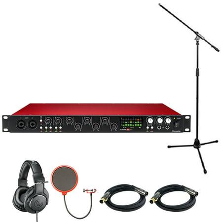 Focusrite Scarlett 18i20 USB Audio Interface (2nd Generation) includes Bonus Audio-Technica Professional Monitor Headphones and More (Interface Audio Professional)