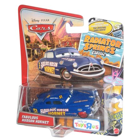 Disney Pixar Cars Movie Radiator Springs Classic Fabulous Hudson Hornet Die Cast Mattel Toy Car - Exclusive Toys R Us - Toys R Us Reno