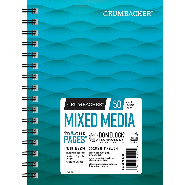 "Grumbacher Mixed Media Paper 5.5"" x 8.5"""