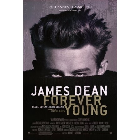 James Dean Forever Young Movie Poster Print  27 X 40