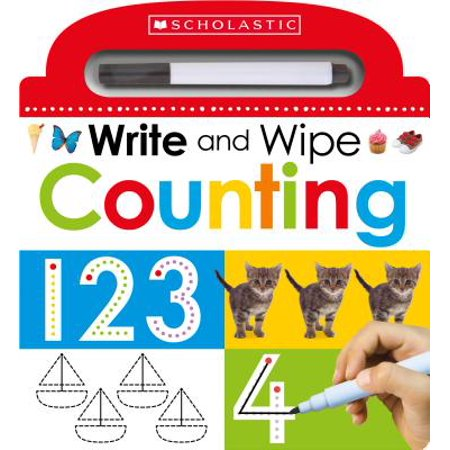 Write and Wipe: Counting (Board Book)