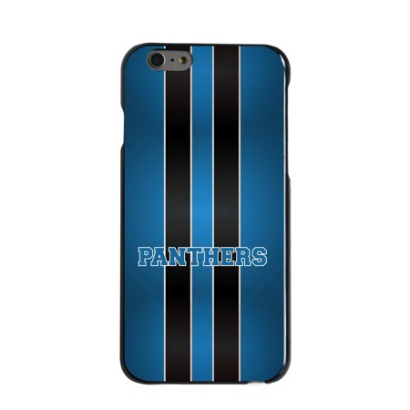 Panthers Cell - CUSTOM Black Hard Plastic Snap-On Case for Apple iPhone 7 PLUS / 8 PLUS (5.5