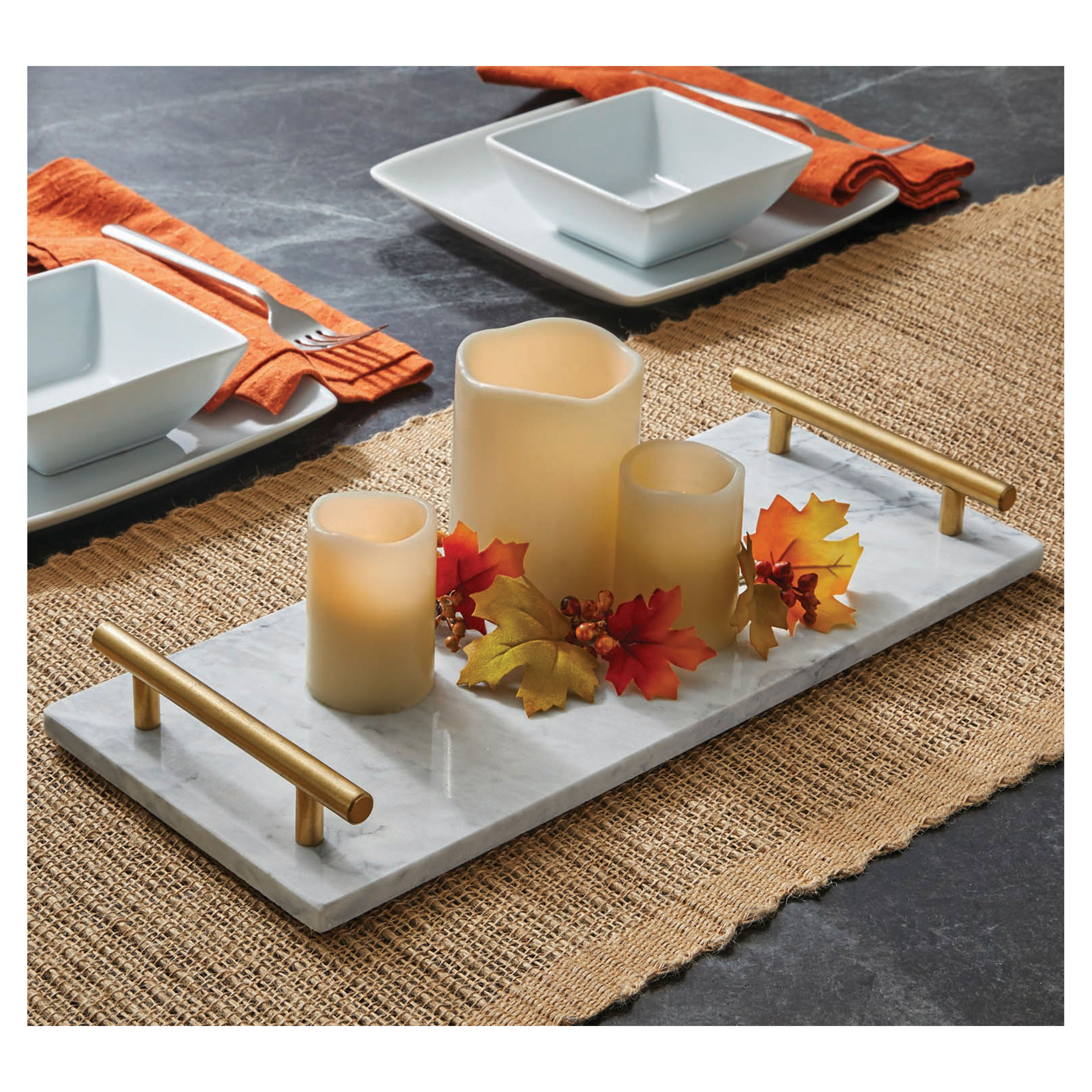 Better Homes&gardens Bhg Marble Tray