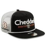 Tyler Reddick New Era Golfer Snapback Adjustable Hat - Black/White - OSFA