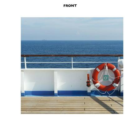 Cruise Ship Deck Backdrop (Cruise Ship Decor)