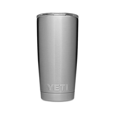 YETI Rambler 20 oz Stainless Steel Vacuum Insulated Tumbler Silver