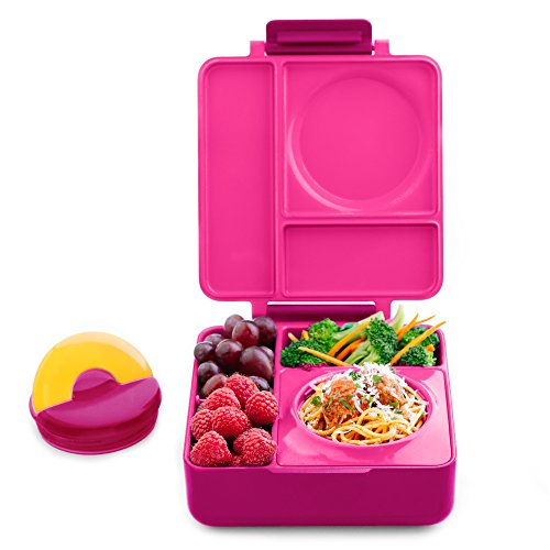 OmieBox Bento Lunch Box With Insulated Thermos For Kids, ...