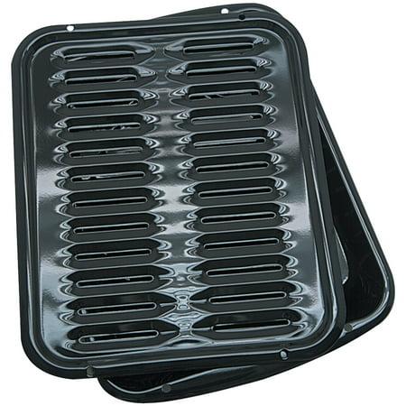 Range Kleen Porcelain Non-Stick Broiler Pan