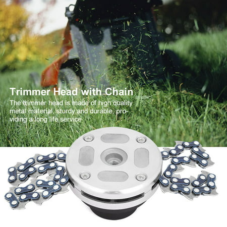 Chain Trimmer Head Grass Trimmer Head For Garden Brushcutter Lawn Mower Replacement Parts Garden Power Tools