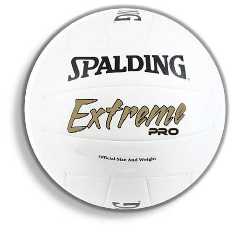 Spalding Extreme Pro Volleyball - White Official Size Mod...