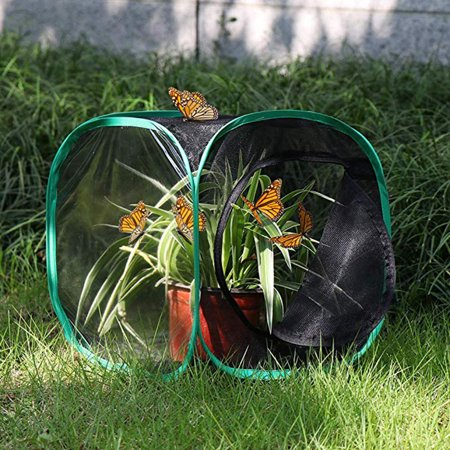 1PC Portable Foldable Insect And Butterfly Habitat Cage Housing Enclosure - Butterfly Cages