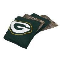 Green Bay Packers 4-Pack Realtree Alternate Cornhole Bean Bags Set - No Size