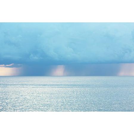 a527d86f6cff LAMINATED POSTER Corsican Sea Blue Sky Cloud Poster Print 11 x 17 -  Walmart.com