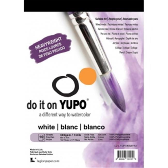 """Yupo Multimedia Paper Pad 5x7/"""" White 144 lb."""